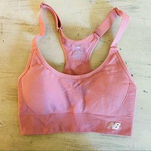 Nike // New Balance Pink Sports Bra